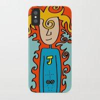 super hero iPhone & iPod Cases featuring Joe Pansa Super Hero by Joe Pansa