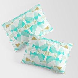 Geometric 1952 - Mid Century Modern Distressed Pillow Sham