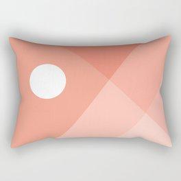 Geometric Landsape 12 Rectangular Pillow