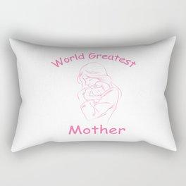 World Greatest Mother Rectangular Pillow