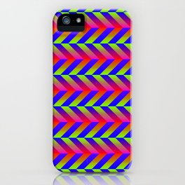 Zig Zag Folding iPhone Case