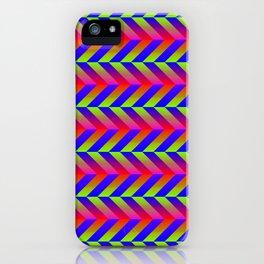 Zig Zag Folding iPhone Case