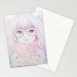 Gamer Girl 4 Stationery Cards