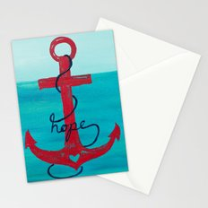 Anchored in Hope Stationery Cards