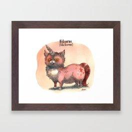 Felis Licornus Framed Art Print