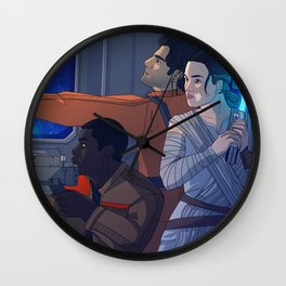 Star Destroyer Wall Clock