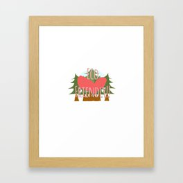 EcoFriendly Framed Art Print