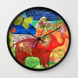 Contemplate with the Heart Wall Clock
