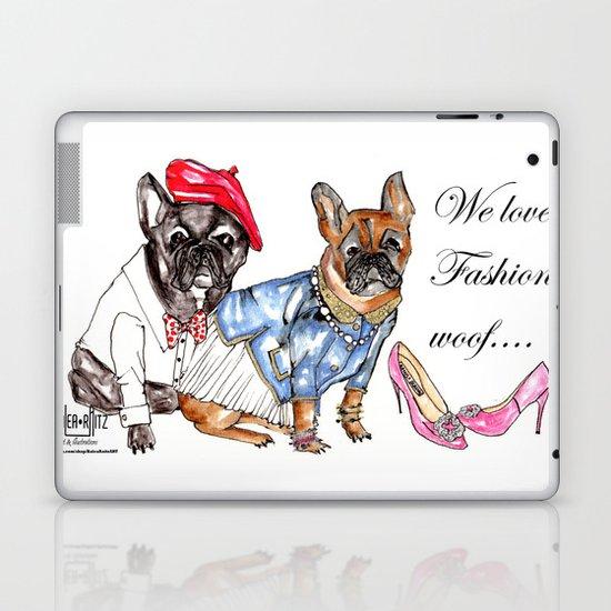 Stylish Dogs  Laptop & iPad Skin
