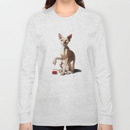Cat-astrophe (Wordless) Long Sleeve T-shirt