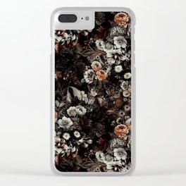 Night Garden V Clear iPhone Case