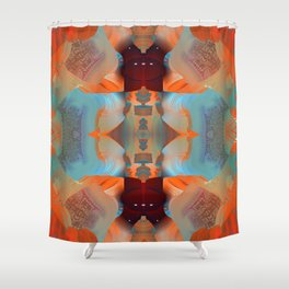 The Devil in the Details Shower Curtain