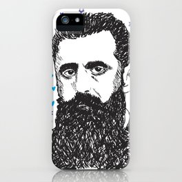 Theodor Herzl iPhone Case