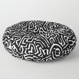 Writing on the Wall Floor Pillow