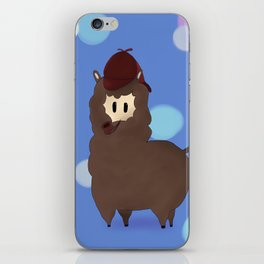 Sherlock Alpaga  iPhone Skin