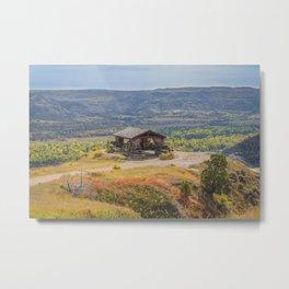 Badlands Overlook, Theodore Roosevelt NP, ND 30 Metal Print