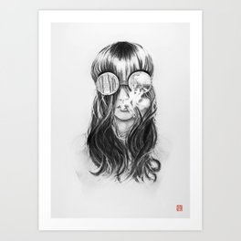 You are not crazy Art Print