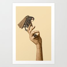Are you afraid of God? Art Print
