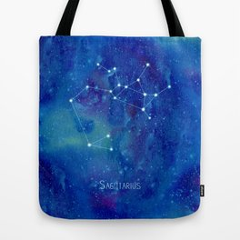 Constellation Sagittarius  Tote Bag