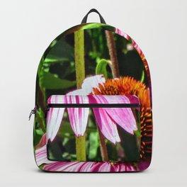 Pink Eyes Big Blooms Backpack