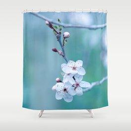 hope springs eternally green Shower Curtain