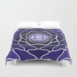 Sacred Lotus Duvet Cover