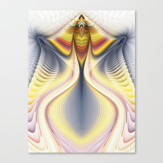Fractal Waves 2 Canvas Print