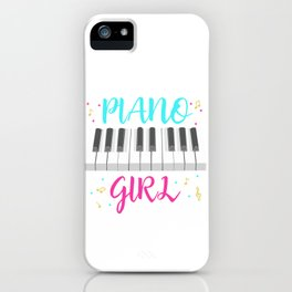 Pianist Girl iPhone Case