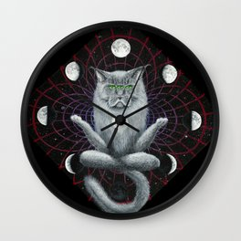 Shamaine Coon Wall Clock
