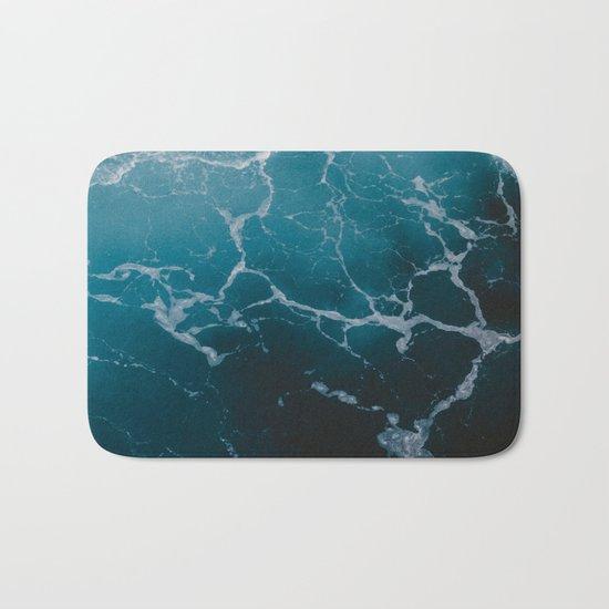 Marble ocean Bath Mat