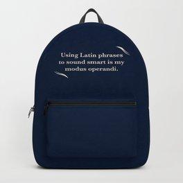 Modus Operandi Backpack