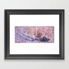 Heliotrope Framed Art Print