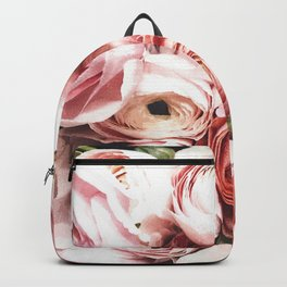 Blush Blooming Backpack