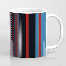Checkered Ethnic Mosaic Pattern Coffee Mug