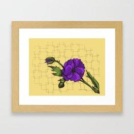Poppy- JMU Colors Framed Art Print