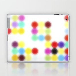 Ghost printing Dotty Laptop & iPad Skin