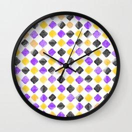 Romvus Watercolour Chess Wall Clock