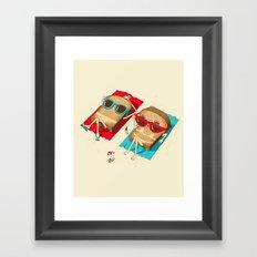 Toast Framed Art Print
