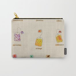 Vintage Herbal Teas Carry-All Pouch