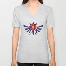 An Eye for the Truth Unisex V-Neck