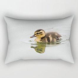 Duckling swimming Rectangular Pillow