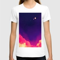 night sky T-shirts featuring Night Sky by Miki Draw