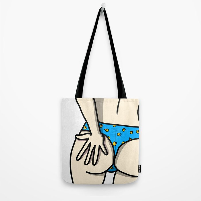 Duck Bikini Butt | Veronica Nagorny Tote Bag