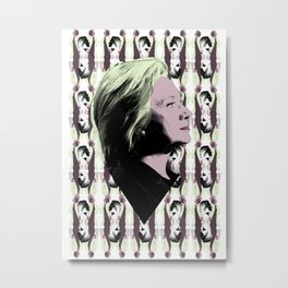 "Hillary Clinton - ""I'm WITH HER"" #HC4P2016 Metal Print"