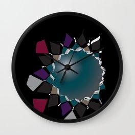 de_star Wall Clock