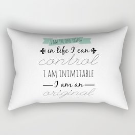 WAIT FOR IT   HAMILTON Rectangular Pillow