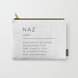 Naz Definition Carry-All Pouch