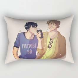 Mako and Haru Rectangular Pillow