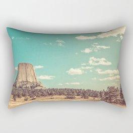 Devil's Tower National Monument Wyoming Rectangular Pillow
