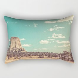 Devil's Tower National Monument Wyoming Rectangular Pillow